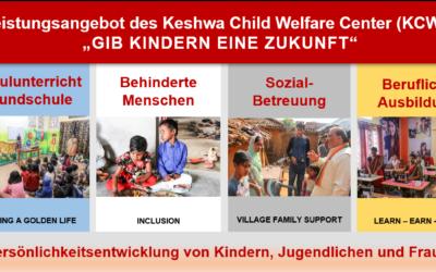 Gesamtprogramm Keshwa Child Welfare Center