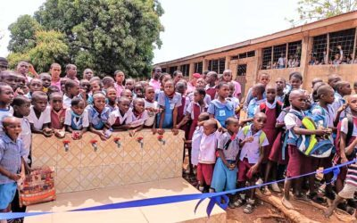 Wasserversorgung für die Amuro/Mgbom Schule