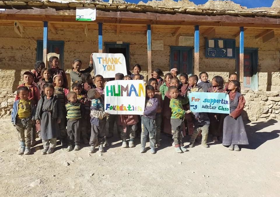 Winter Schule in Nyisal – Report 2020